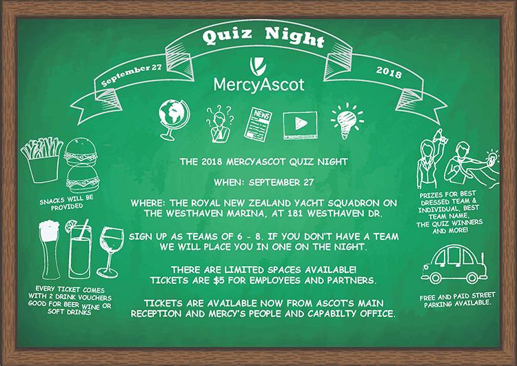 News | MercyAscot Quiz Night 2018 - tickets on sale now!